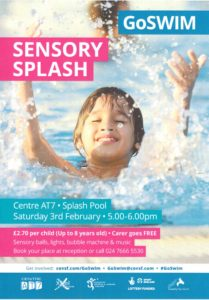GoSwim Sensory Splash @ centre AT7 | England | United Kingdom