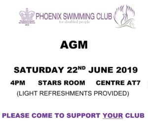 AGM 2019 @ Centre AT7 Coventry